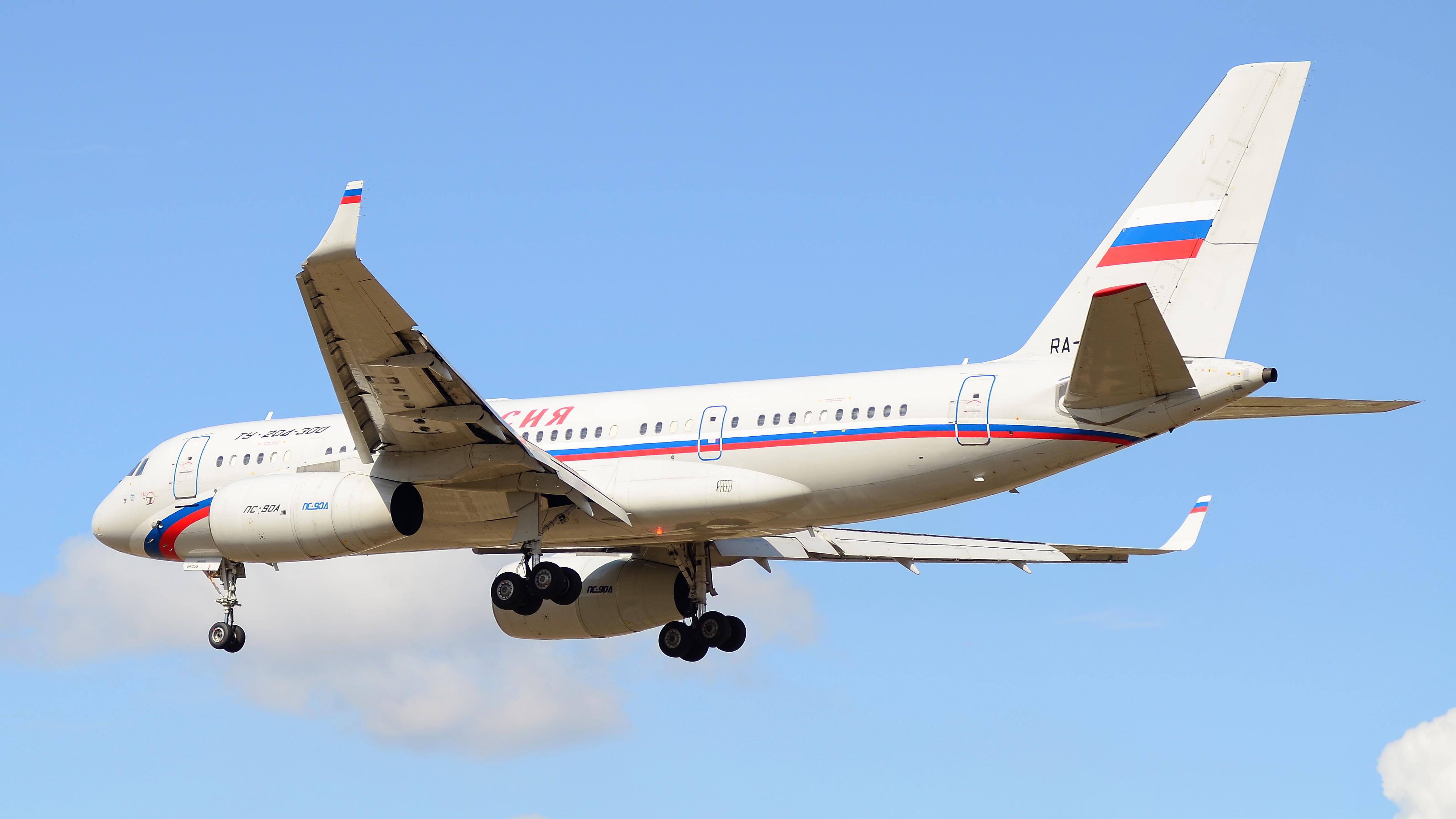 Tu-204, RA-64058