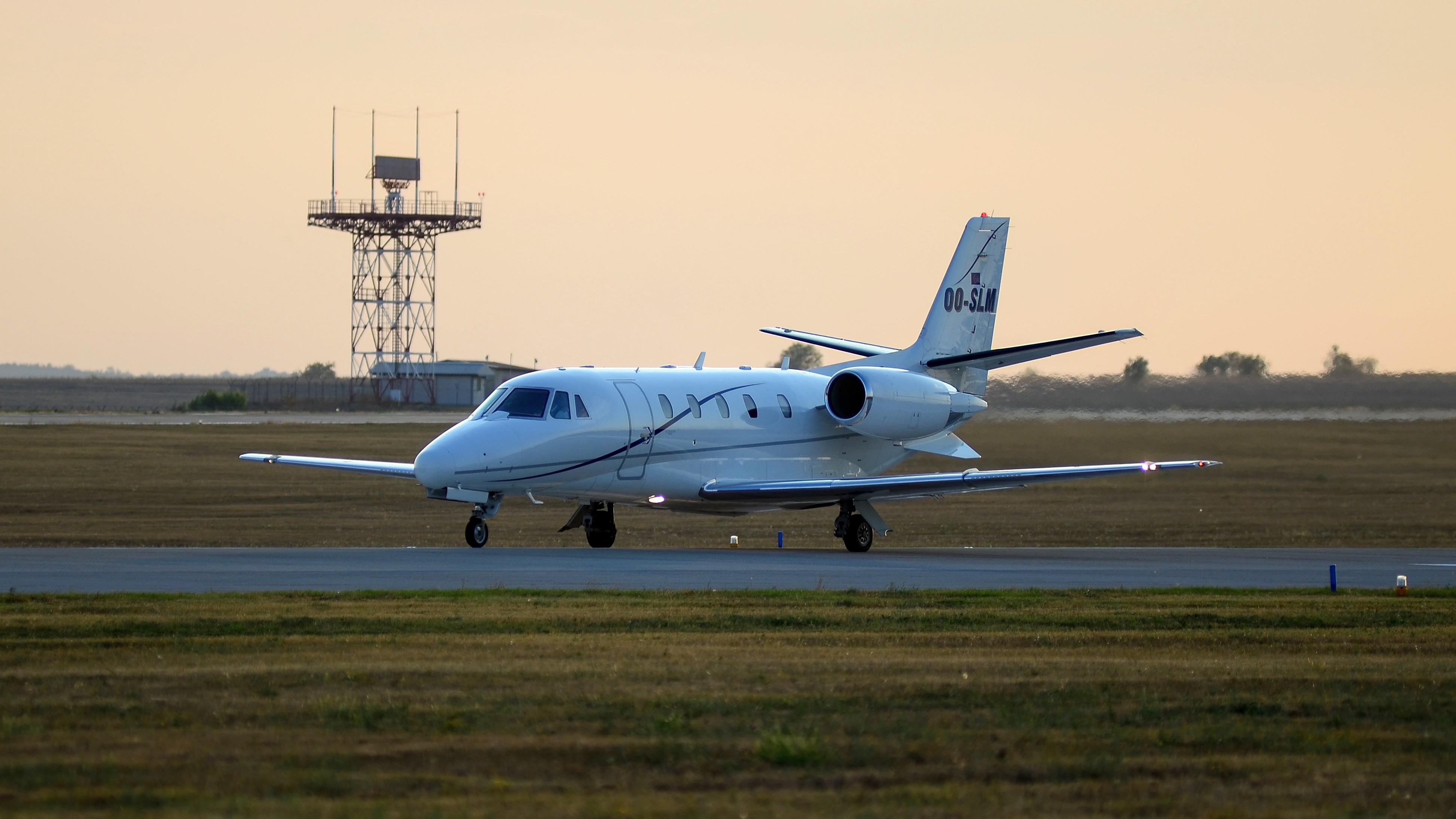 Cessna 560XL, OO-SLM