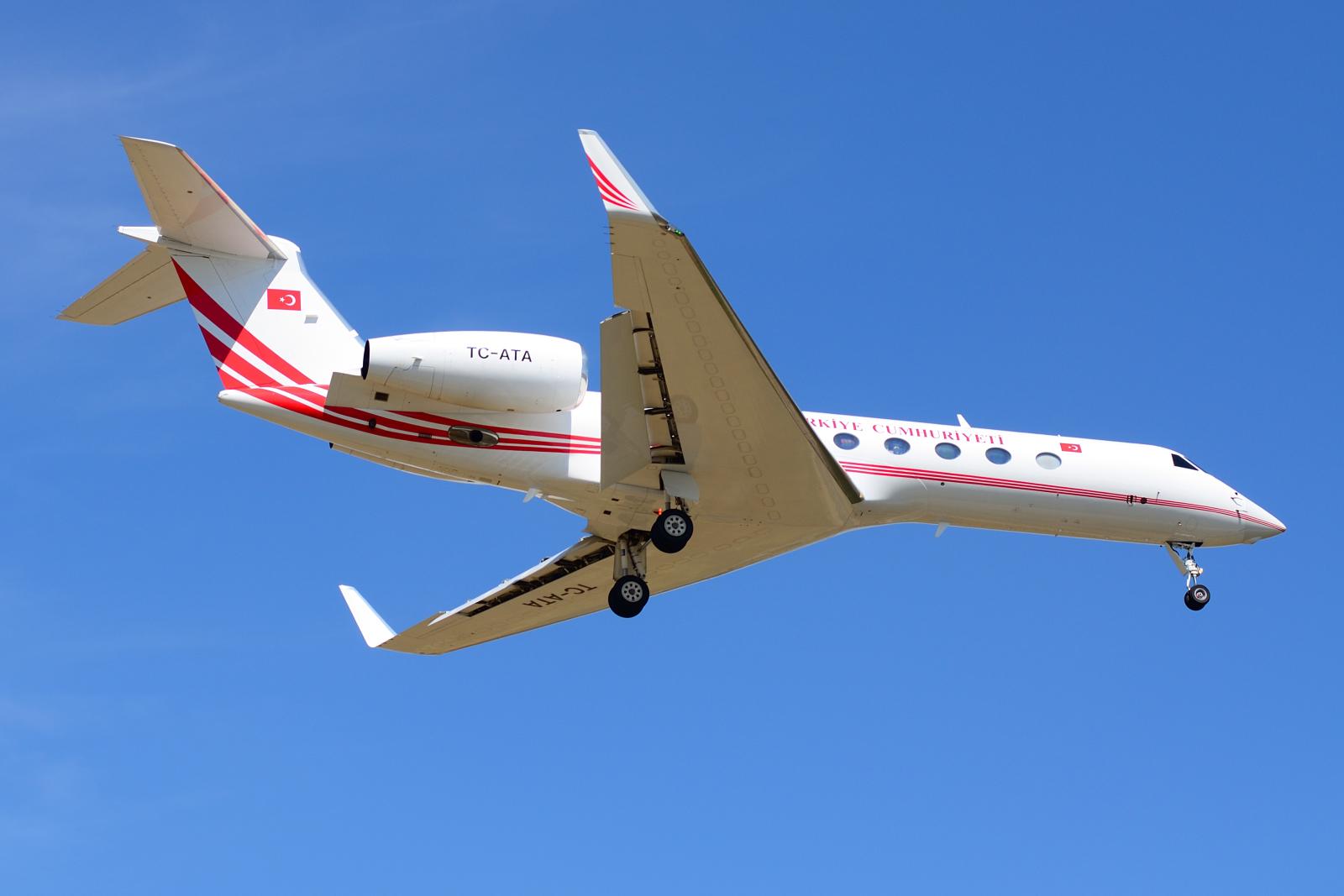 Gulfstream G550, TC-ATA