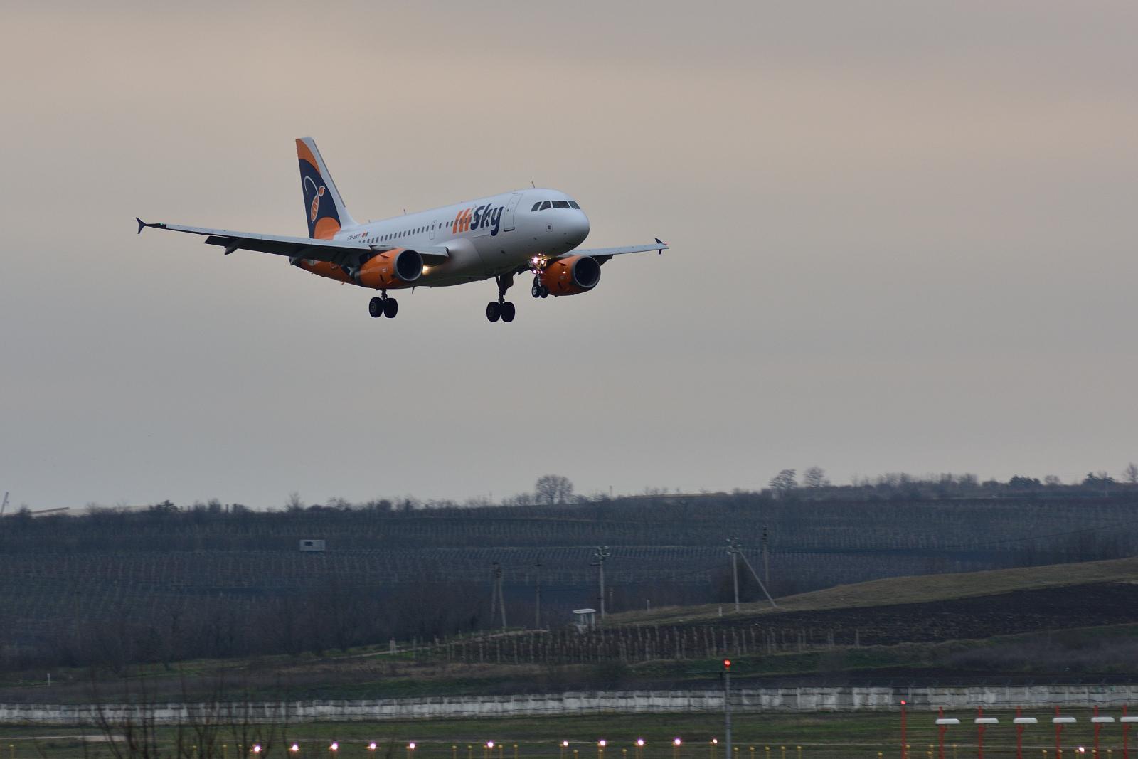 Airbus A319, ER-SKY