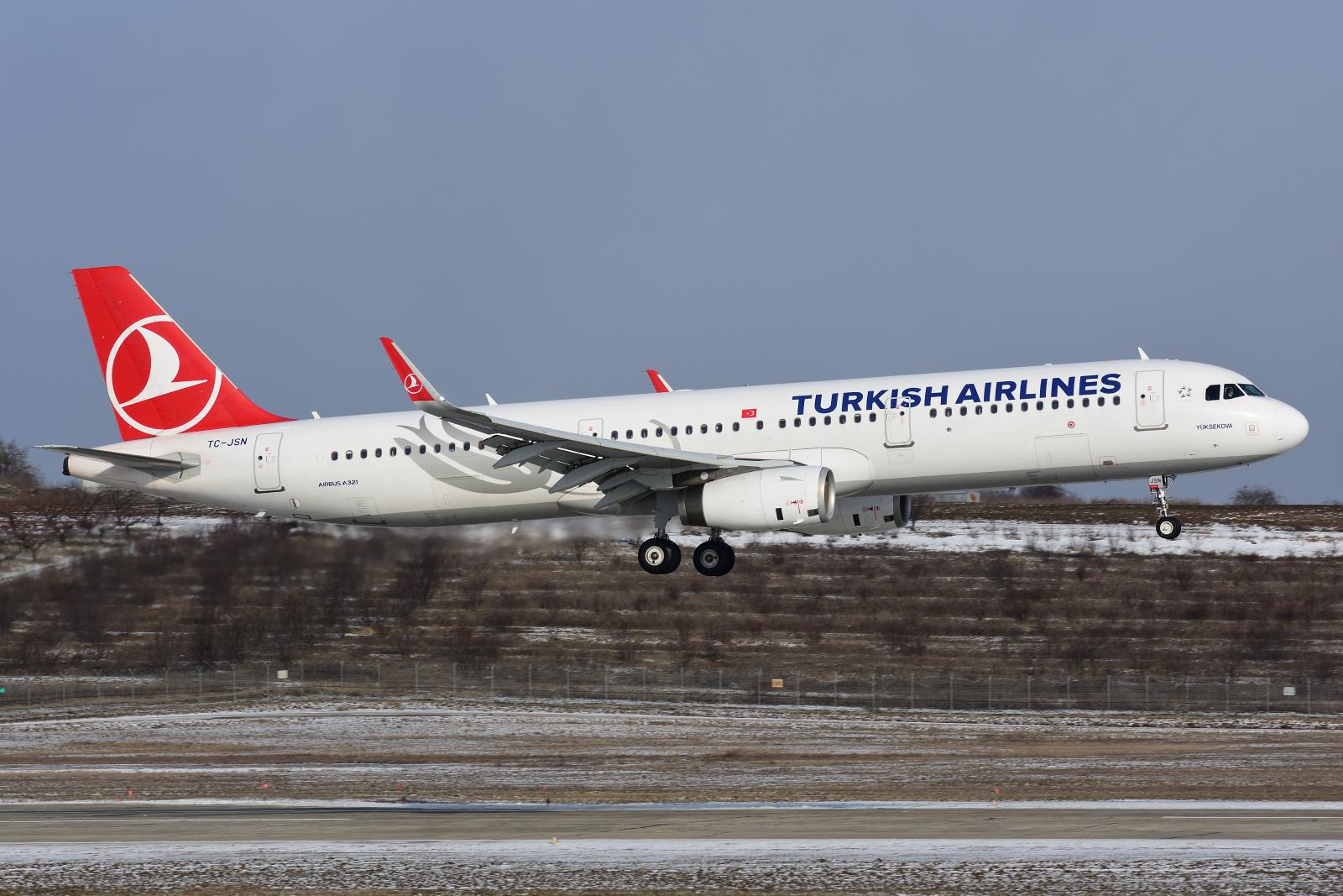 Airbus A321, TC-JSN
