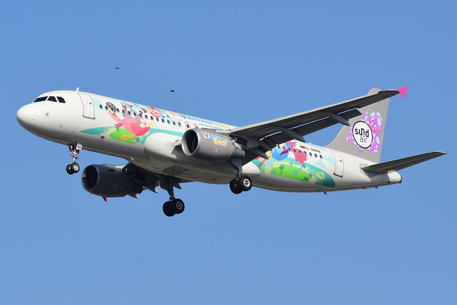 Airbus A320, D-ANNA