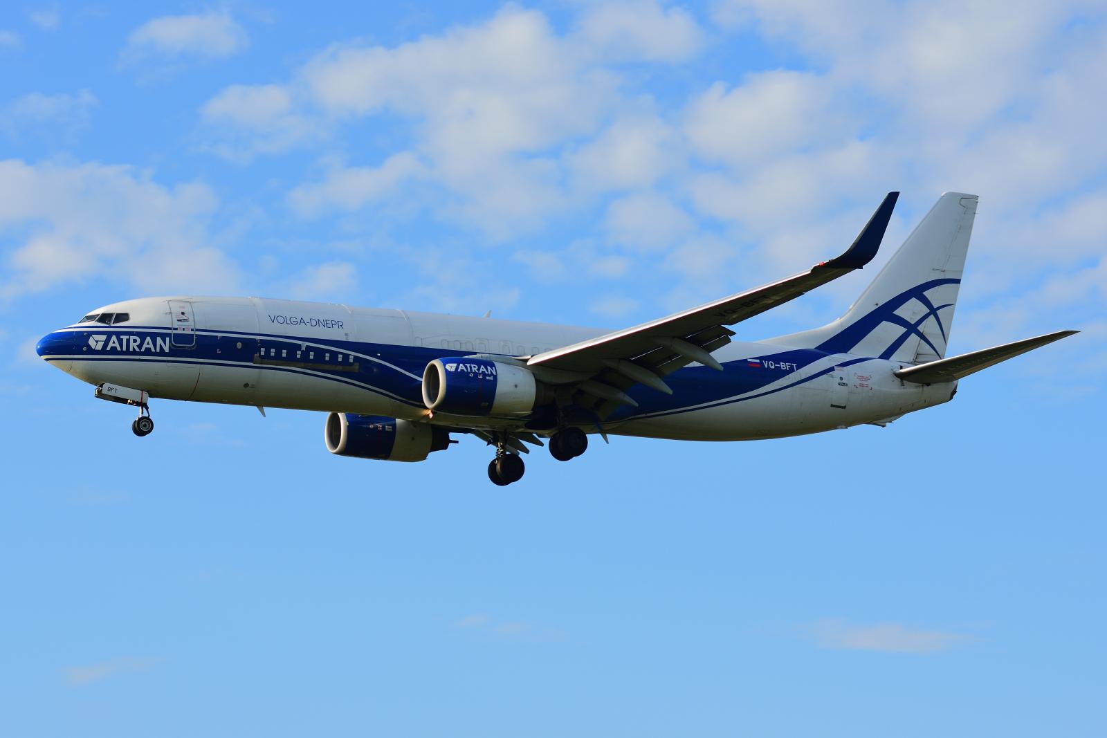 Boeing737, VQ-BFT