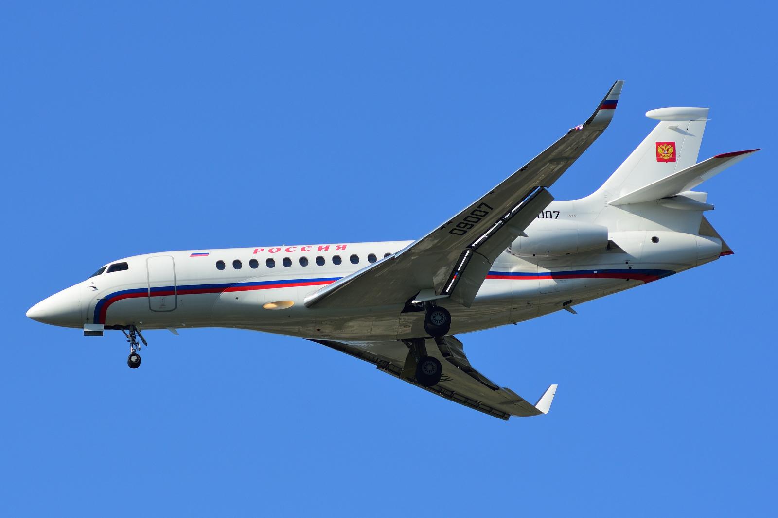 Dassault Falcon 7X, RA-09007